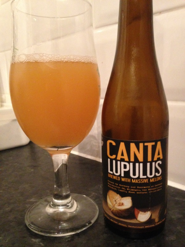 Oersoep/Beermoth Canta Lupulus - Session IPA brewed with melons