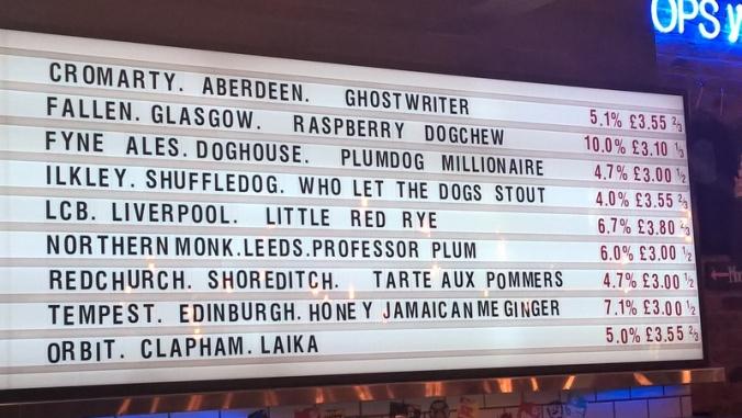 Brewdog Manchester - Collabfest '15