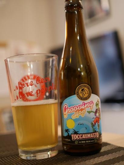 Toccalmatto - Grooving Hop. A tropical pale ale