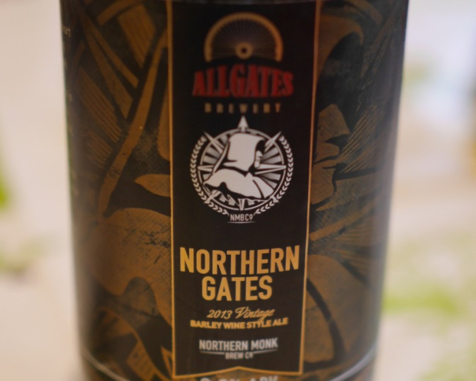 Northern Monk and Allgates' Limited Edition Barley Wine Northern Gate