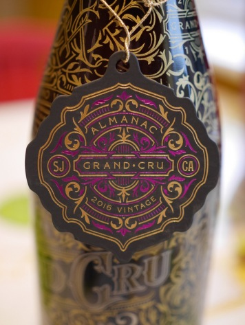 Almanac Grand Cru 2016 - A Flanders Red aged in Red Wine barrels with grapes, raspberries and vanilla beans