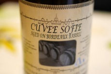 Alvinne Cuvee Sofie aged in Bordeaux barrels - Loved this at Borefts 2015