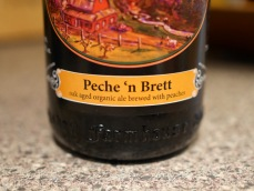 Logsdon Farmhouse Ale Peche 'n Brett - just peachy